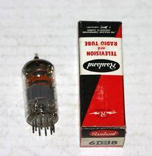 1 Rauland 6DJ8 Electronic Vacuum Tube in Box. NOS Germany
