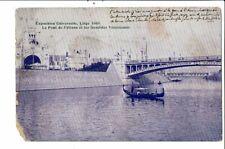 CPA Carte Postale-Belgique-Liège Exposition de 1905-Pont de Fétinne et gondoles