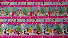 My Little Pony Holiday Winter Christmas Gift Wrap Wrapping Paper 45 sq ft 2015