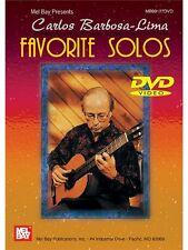 Carlos Barbosa Lima Favorite Solos GUITAR MUSIC CHRISTMAS BIRTHDAY PRESENT  DVD