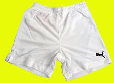 PUMA Kinder Sport Short / Hose WEISS Gr.152