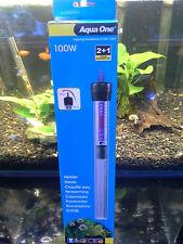 Aqua One 100 watt aquarium fish tank heater EXPRESS OVERNIGHT AIR FREIGHT