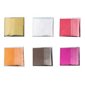 100Pcs Square Candy Package Sweets Chocolate Foil Paper Wrappers Sweets Q3T9