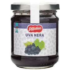 Offidius - EXTRA Jam from Black Grapes - 2x220 gr - Made in Italy