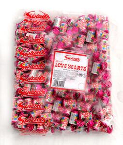 Swizzels Mini Love Hearts Full 3kg Bag Wedding Retro Party Valentine Sweets