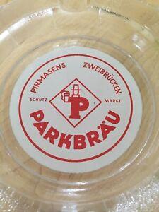 Parkbrau Glass Ashtray Pirmasens Zweubrucken Schutz Marke