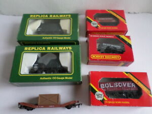 6 OO Gauge  wagons ( Replica Railways, Hornby etc)