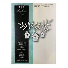 Bird House metal die - Memory Box cutting dies 99599 birdhouse home