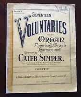The Cloister Album of Voluntaries for the Harmonium or American Organ Book 5.