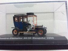 4 modellautos1.87, Austro Daimler