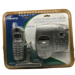 Memorex Cordless Phone MPH2430 Digital Answering Machine Caller ID New Sealed