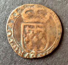Belgique - Pays-Bas Espagnols - Philippe IV - Liard  1639 Arras