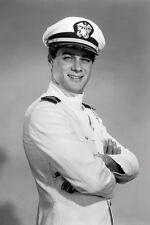Tony Curtis Operation Petticoat 11x17 Mini Poster smiling in Naval uniform