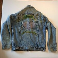 Vintage Levi's Jacket - Men's size Small - Made in USA w/ Poison Fan Drawing