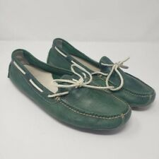 Cole Haan Gunnison Leather Loafer Green Sz 10.5