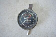 Vintage Peerless Engine Vacuum Fuel pump tester Pounds pressure inches Antique