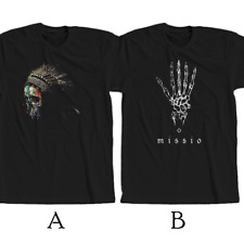Missio American Pop Rock Duo T-shirt New 100% Cotton
