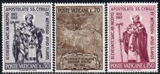 (Ref-12285) Vatican City 1963 Conversion of Slavs Anniv. SG.416/418  Mint (MNH)
