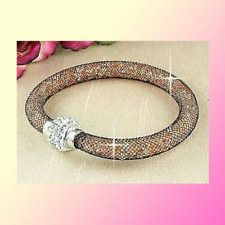 Stardust Bracelet With Swarovski Elements Valentine Gift (Free Crystal earrings)
