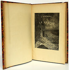 HUGO Victor L'Archipel de la Manche, Napoléon le Petit, En Voyage. 4 vol en 1 sd