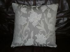 """16"""" CUSHION COVER MADE WITH JOHN LEWIS GREY 'COLETTE' FABRIC--"""