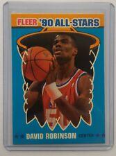 DAVID ROBINSON All Stars 1990-91 FLEER CARD - Pack Fresh