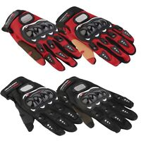 Motorbike Motocross Summer Fiber Bike Racing Gloves Set Pro-Biker Motorcycle EO