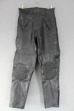 Buffalo Leather Attachment Zip, Short Motorcycle Trousers