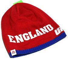 UFC Reebok Toque Knit UnCuffed England Red White Blue Beanie Skull Hoody Hat Cap