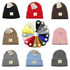Carhartt Men's Acrylic Watch Beanie Warm Winter Knit Beanie Cap/Hat A18 Authenti