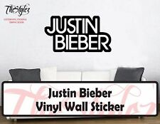 Justin Bieber Custom Vinyl Wall Sticker