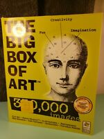 The Big Box of Art PC XP 24 CD-Rom CD Desktop Publishing Clip Art