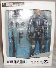 METAL GEAR SOLID 2 SONS OF LIBERTY RAIDEN PLAY ARTS KAI FIGURE (READ AUCTION)