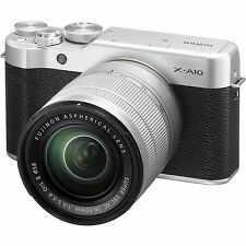 Fujifilm X-A10 + 16-50mm (Silver) - BRAND NEW, SEALED BOX