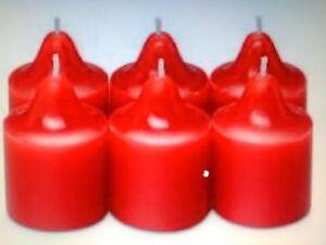 RARE * PLUS AU CATALOGUE *:Boite de 6 Lampions Partylite Pomme de Cajou