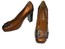 Damenschuhe  NEU Pumps High Heels Abendschuhe Damen braun bronze Gr 40