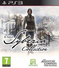 SYBERIA Colección completa para PAL PS3 (nuevo Y Sellado)