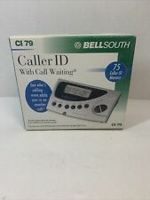 BRAND NEW BellSouth CI 79 Caller ID With Call Waiting 75 Caller ID Memory
