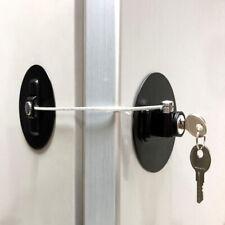 2 Pack Refrigerator Door Lock With Keys Fridge Freezer Lock Child Safety Lock D