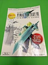 Final Fantasy VII: Official Strategy Guide 1997 PlayStation PS1 FF7 BradyGames