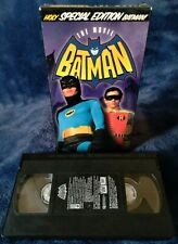 Batman The Movie Holy Batman! SPECIAL EDITION. VHS EXCELLENT CONDITION