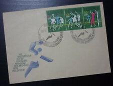 Germany 1974 Cover - DDR Sport Volleyball Handball Soccer Football Berlin A1