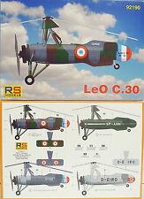 LeO C.30 , Focke Wulf C-30, RS- Models, 1:72,Frankreich,Polen,Deutschland, Neu