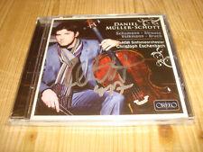 DANIEL MÜLLER-SCHOTT Schumann Volkmann Cello Concertos ORFEO CD Signed Signiert