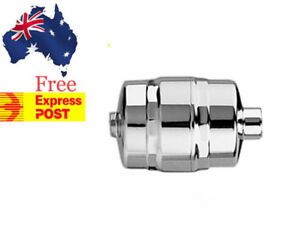 SPRITE SHOWER FILTER  SOLID BRASS CHROME PLATED HIGH OUTPUT CHLORINE REMOVAL