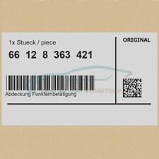 Original BMW 66128363421 - [Super Price] Cover Radio Remote Control NL 3er...