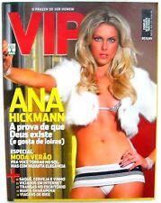 ANA HICKMANN (TV SHOW) VIP MAGAZINE LIKE PLAYBOY BRAZIL OCT 2006