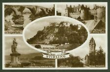Stirling - Valentine's Real Photo Multiview Postcard
