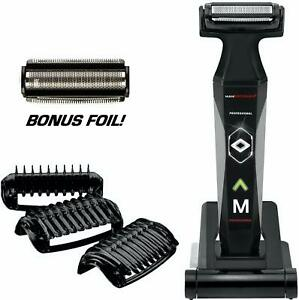 Mangroomer 2.0 Professional Body Groomer, Ball Groomer  Body Trimmer With Propi