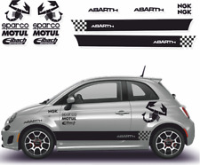 Fiat 500 Style Abarth -  Autocollant Stickers Kit stickers N°4 adhésif
